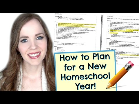 PLANNING YOUR HOMESCHOOL CURRICULUM | CREATING A COURSE OF STUDY | HOW I PLAN FOR A NEW SCHOOL YEAR!