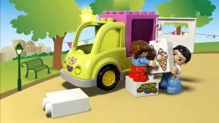 LEGO DUPLO - 10586 Фургон із морозивом(Для всіх любителів холодних ласощів - у місто прибув Фургон з морозивом LEGO® DUPLO®! Побудуйте фургон з морозив..., 2015-07-03T10:52:19.000Z)