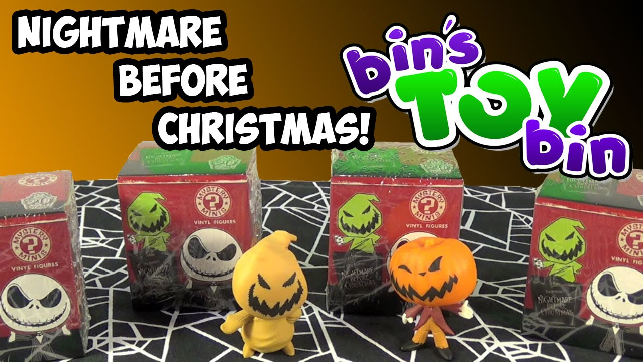 Nightmare Before Christmas Funko Mystery Minis! Blind Box Opening ...