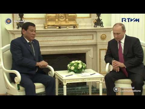 Meeting with Russian President Vladimir Putin 5/23/2017