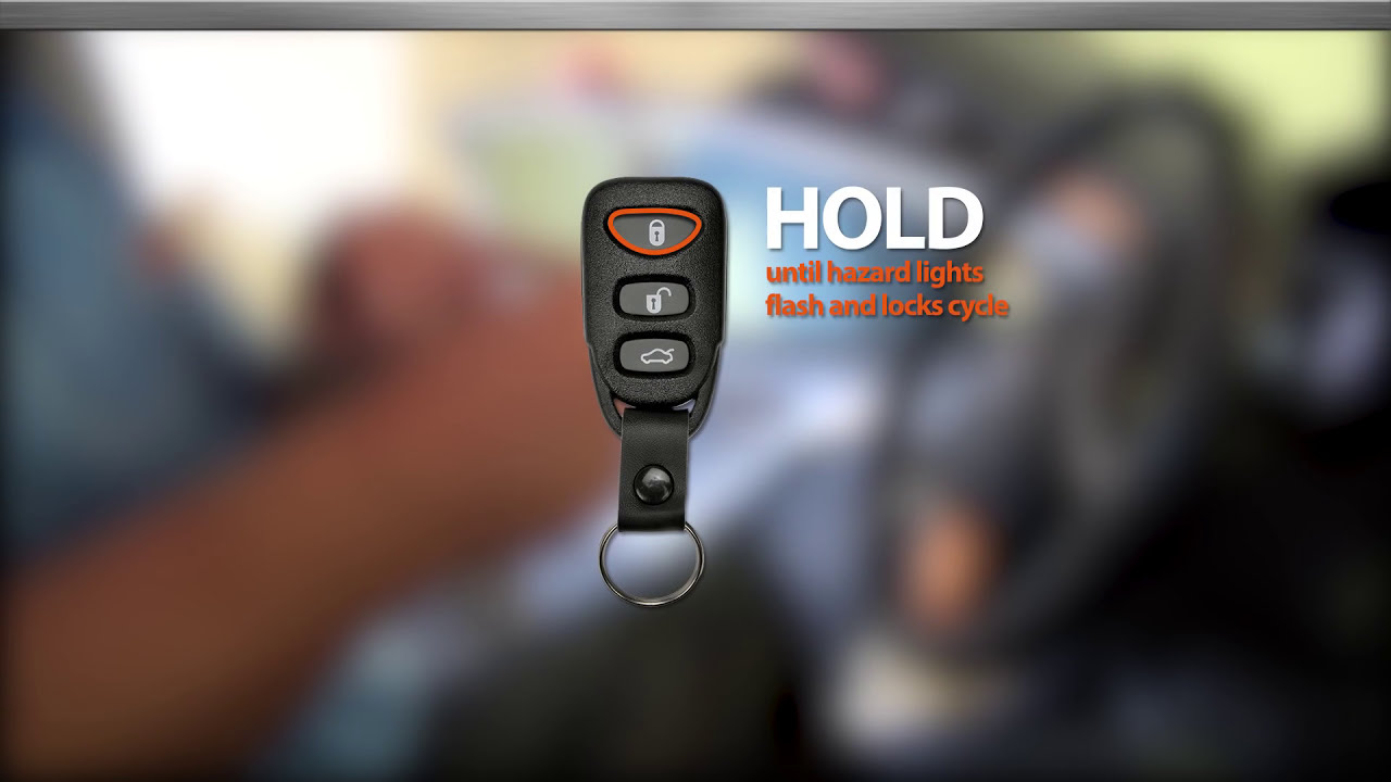Hyundai Key Fob Programming By Dorman Products Youtube