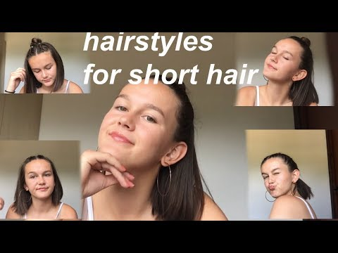 5 BTS HAIRSTYLES FOR SHORT HAIR
