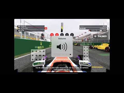 F1 2016 Mobile IOS/Android Canada GP Gameplay (50% Race)