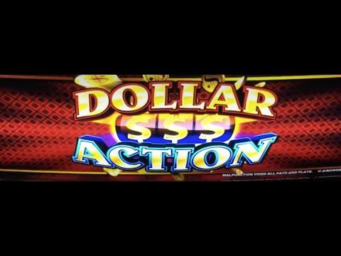 Dollar Action **JACKPOT HANDPAY** High Limit Action.
