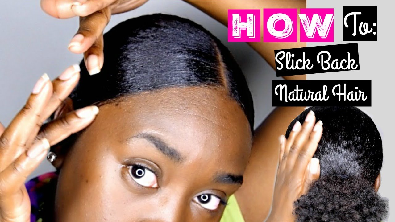 Best Gel For Slicking Back Natural Hair 10 Great Options Natural Hair Insights