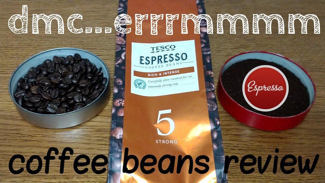 Tesco Espresso Coffee Beans Review