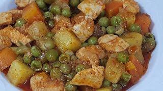 Bezelyeli Tavuk Yemeği Tarifi ve Malzemeleri