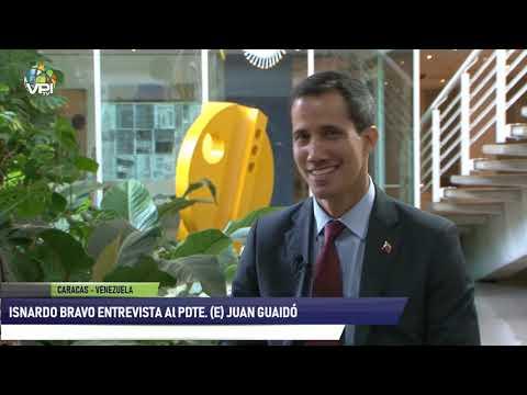 Exclusiva - Isnardo Bravo entrevista al Pdte. (E) Juan Guaidó - 6 de Febrero de 2019