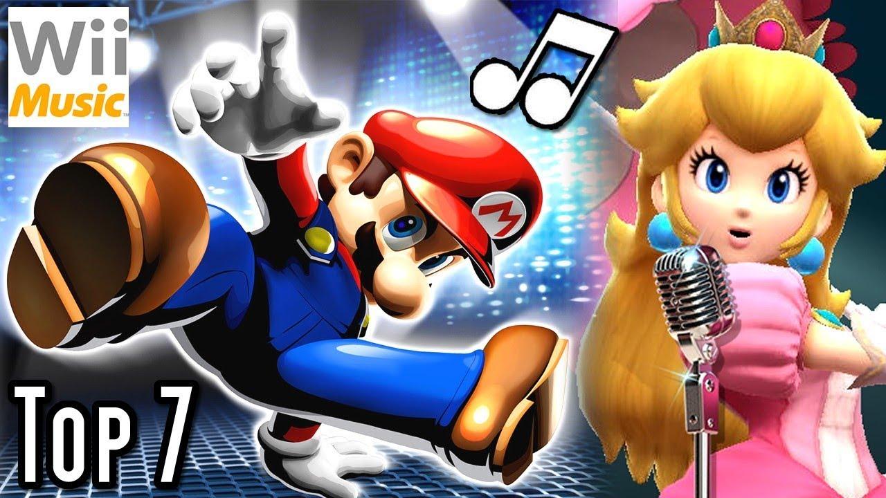 Super Mario TOP 7 MUSIC VIDEOS (Wii)