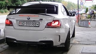 BMW 1M RevoZport Raze w/ Akrapovic! INSANELY LOUD SOUNDS! 1080p HD!