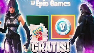 FORTNITE REGALA PAVOS AND SKINS! YOU HAVE TO see IT :D