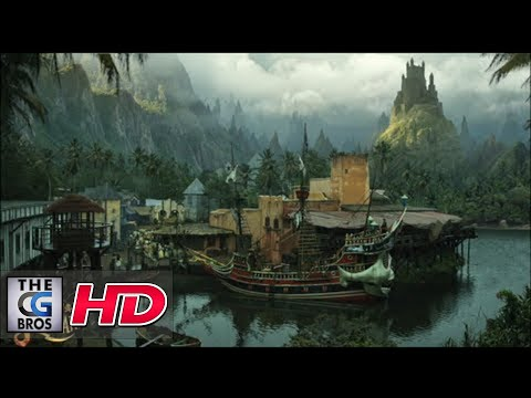 CGI VFX Breakdowns / Showreels : Matte Painting Set Extension