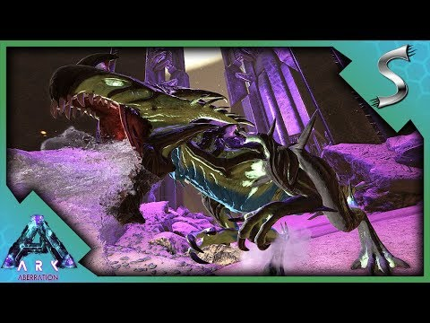 EXPLORING THE SURFACE! DROP HUNTING & REAPER KING AMBUSH! - Ark: Aberration [DLC Gameplay E10]