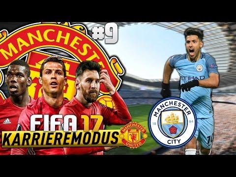 MARTIAL, DER NEUE IBRA!?? 😱⛔️ - MANCHESTER DERBY!!! 🔥🔥  | FIFA 17 KARRIEREMODUS MAN UNITED #09