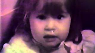 Tara and the toothpaste tube old home movie 1981