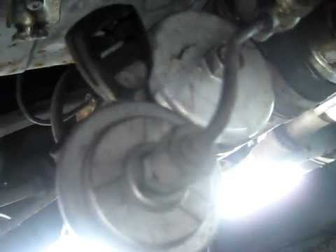 FUEL FILTER, REMOVE & REPLACE - YouTube
