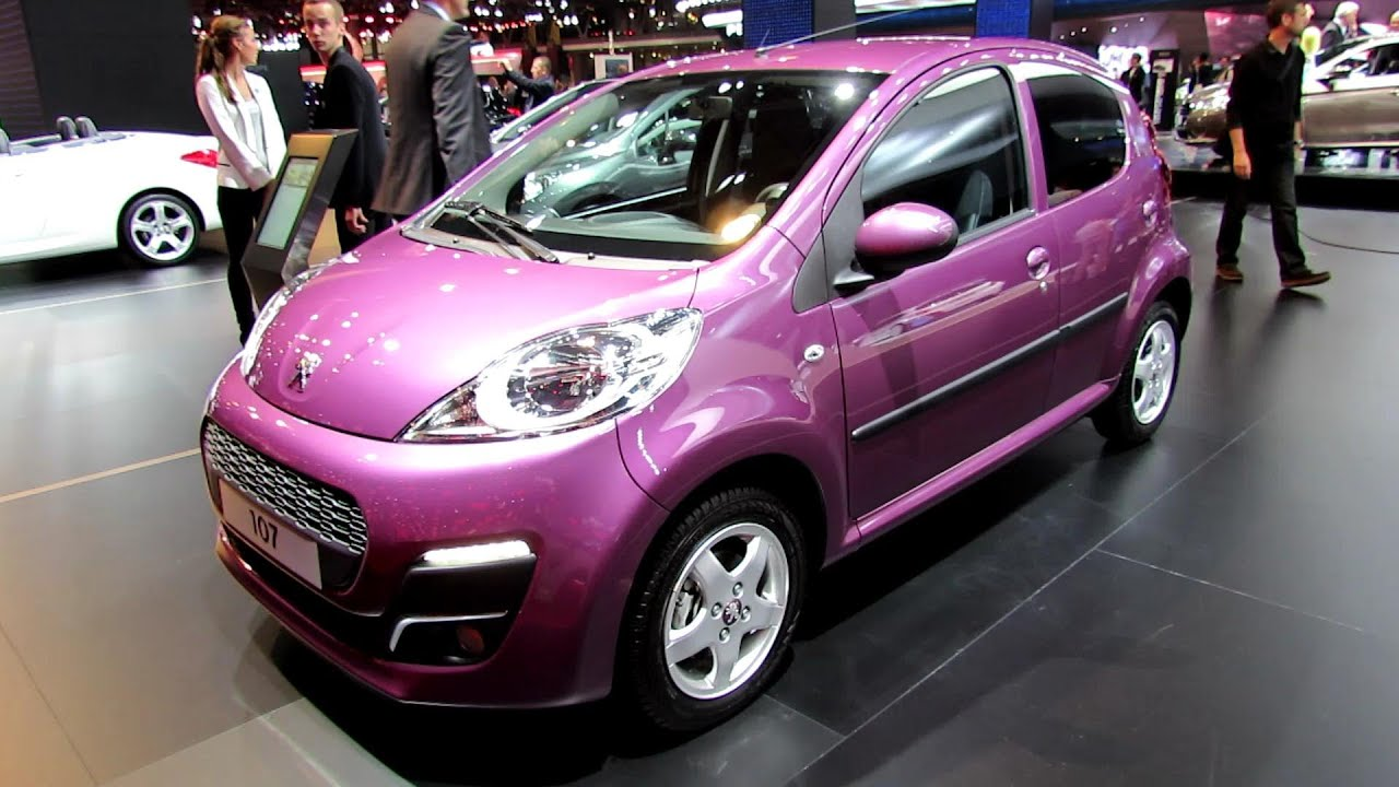 2013 peugeot 107 exterior and interior walkaround 2012 paris auto show youtube. Black Bedroom Furniture Sets. Home Design Ideas