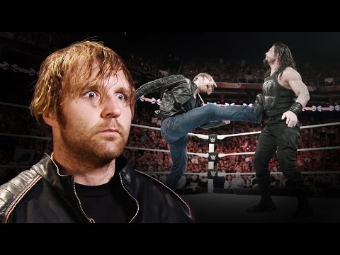 "Dean Ambrose on why ""it's time to shut some people up"": June 22, 2016"