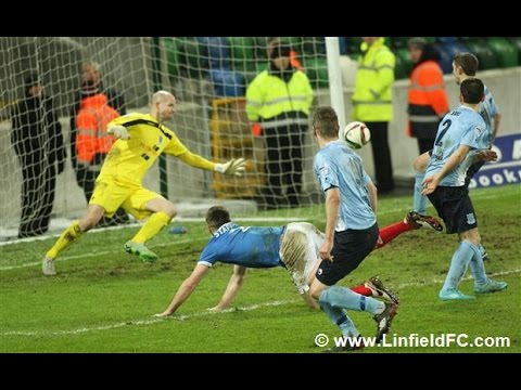 Co. Antrim Shield Final Linfield v Ballymena United 12/1/16