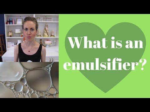 What Is An Emulsifier?