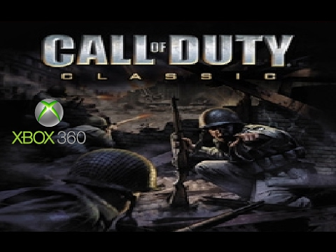 Call Of Duty Classic Playthrough 1 12 Xbox 360 Youtube