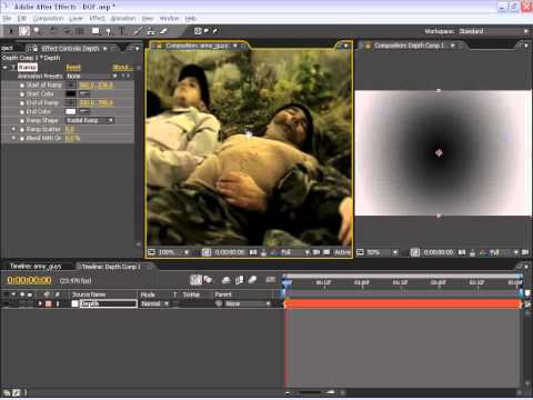 After Effects Depth of Field