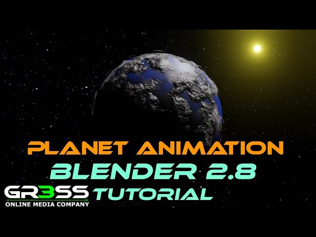 Blender 2.8 Tutorial | Planet Animation