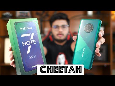 Infinix Note 7 Unboxing | Ye Lo Cheetah!