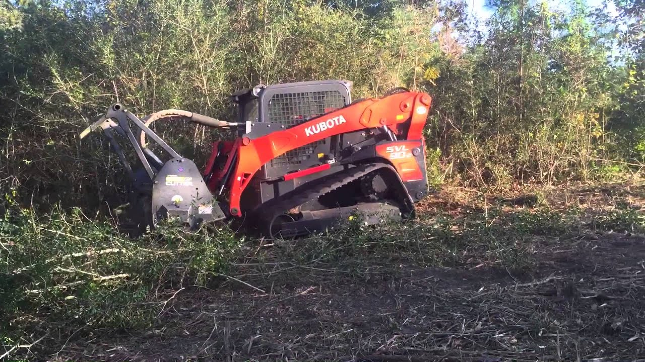 Hydro Ax Under Brushing Land Clearing Brush Removal