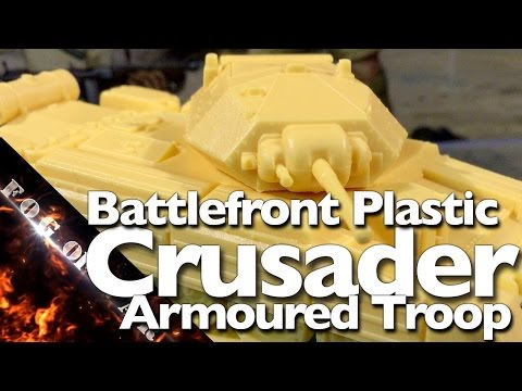 Review | Battlefront plastic Crusader 1/100 (15mm) | Flames of War