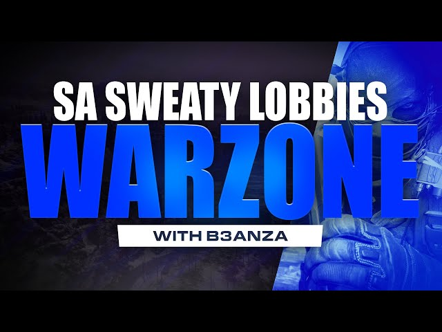 LIVE: South African week night sweaty lobbies in Call of duty Warzone