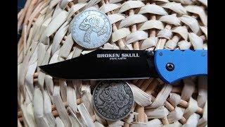 нож Cold Steel Broken Skull - обзор, выводы, сравнения и примеры работы