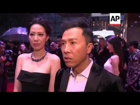 LFF World Premiere of 'Kung Fu Jungle' with Donnie Yen, Teddy Chan and Michelle Bai