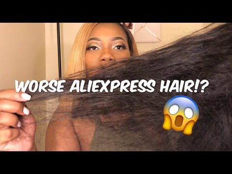 Worst AliExpress Hair | Ms Here Hair Company Final Review