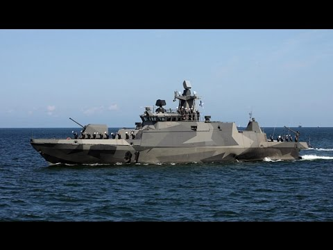 """芬兰导弹艇的隐身设计与 """"盾牌级"""" 有何区别?  August 26, 2016"""