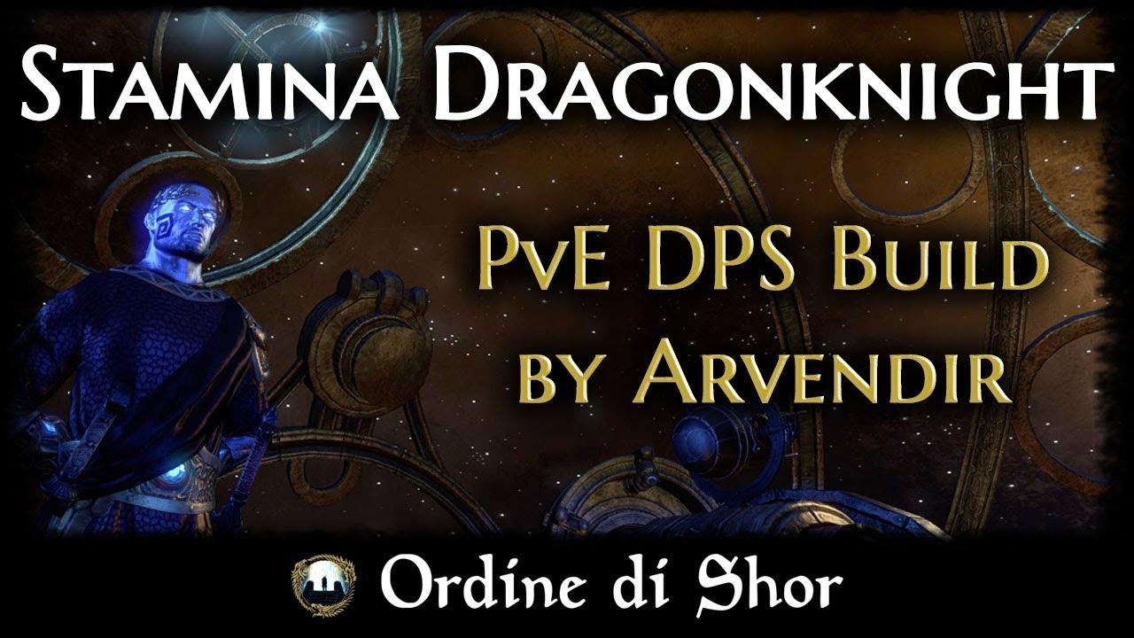 Clockwork City - Stamina Dragonknight DPS build by Arvendir