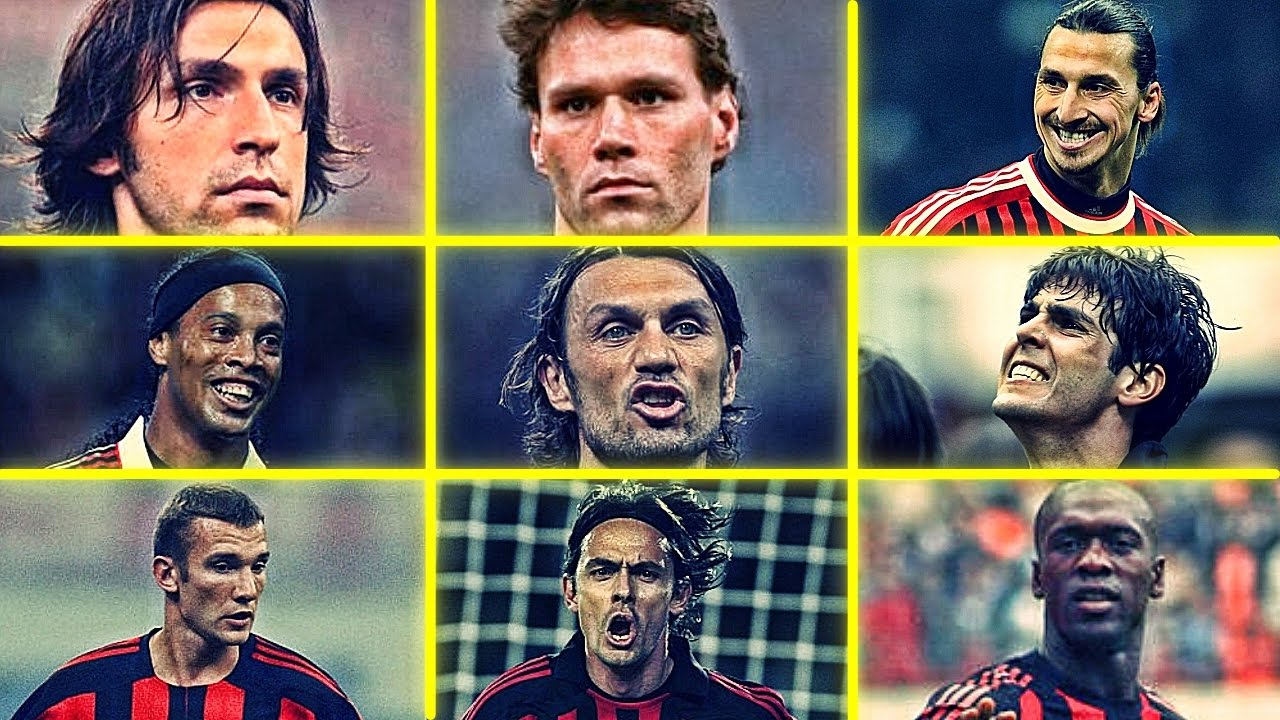 Ac Milan Legends Who Is Your Favourite Ac Milan Player Hd Youtube
