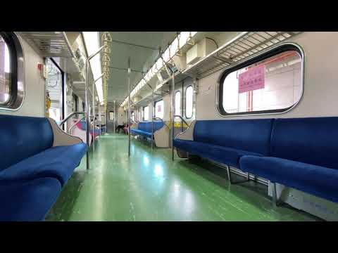 臺鐵 EMU600 區間電聯車 車廂內裝 - YouTube