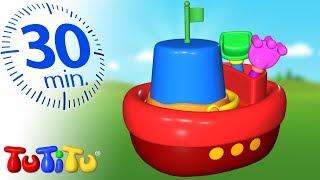 Đồ chơi cho Trẻ mới biết đi | Đồ chơi trên biển | Tuyển tập TuTiTu