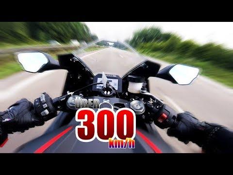MEIN ERSTES MAL ÃœBER 300km/h SCHALTHEBEL WEGGEFLOGEN BEINAHE UNFALL | Honda CBR 1000 RR Fireblade