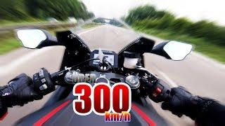 MEIN ERSTES MAL ÜBER 300km/h SCHALTHEBEL WEGGEFLOGEN BEINAHE UNFALL   Honda CBR 1000 RR Fireblade