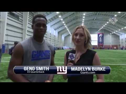 Giants Insider: QB Geno Smith