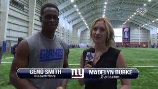 Giants Insider: QB Geno Smith