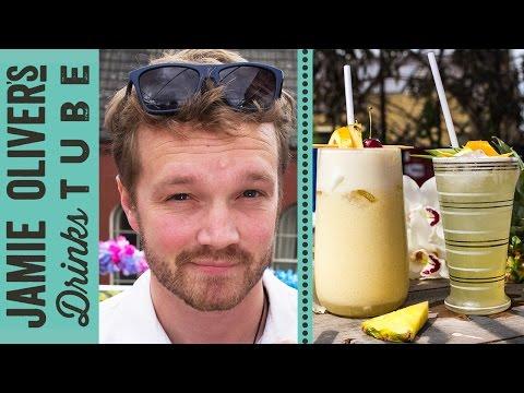 Piña Colada Cocktail - Two Ways | Rich Hunt