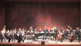 """Black Dahlia""  (composed by Bob Belden) Cincinnati Conservatory Orchestra with Tim Hagans"