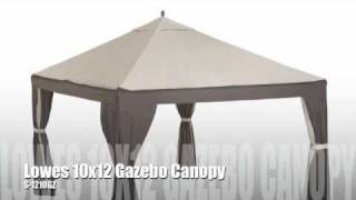 Lowes Garden Treasures 10x12 Gazebo
