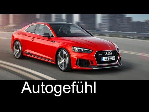 Audi RS 5 Coupé Preview & Acceleration - Autogefühl