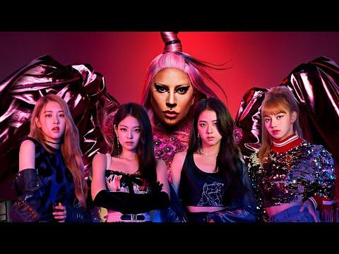 Lady Gaga, BLACKPINK - Sour Candy (Music Video)