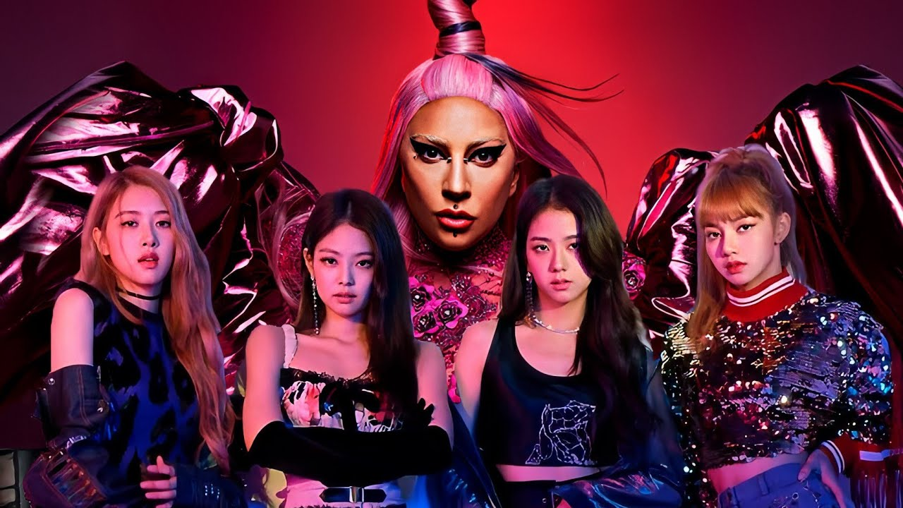 lady gaga blackpink sour candy music video youtube
