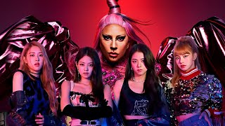 Lady Gaga, BLACKPINK - Sour Candy (Music Video)